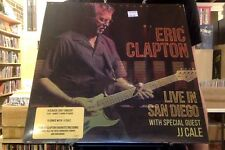 Eric Clapton with JJ Cale Live in San Diego 3xLP sealed vinyl
