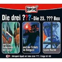 "DIE DREI ??? "" SAMMELBOX 23. FOLGE 67 - 69"" 3 CD NEU"