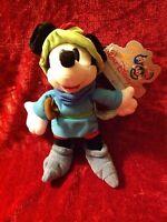 Walt Disney World Magic Kingdom Mickey Mouse Brave Little Tailor Plush Doll