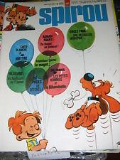 Spirou N° 1963 27/11/1975 Agnan Niant Hiettre Oncle Paul Les petits hommes