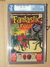 Fantastic Four # 11 Pgx 7.5 & Fantastic Four #30 Pgx 8.0 Vf
