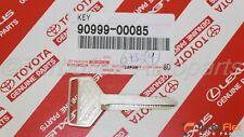 Toyota Corolla Celica MR2 Genuine Non-Transponder Metal Blank Key 90999-00085