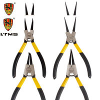 "LTMS 7""/9""/13"" Circlip Plier Pliers Set Portable Internal/External Straight/Bent"