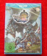 Monster Hunter 3 Ultimate, Nintendo WiiU Spiel Neu, deutsche Version