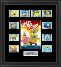 Sponge Bob Square Pants Framed 35mm Film Cell Memorabilia Filmcells Movie Cell
