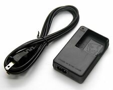 Battery Charger for Yashica ADV-518HD ADV-528HD YHD-AS62 Pink Petit DVC-H1000D