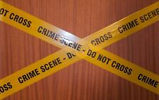 Prank barrier tape  x 5m - CRIME SCENE - DO NOT CROSS