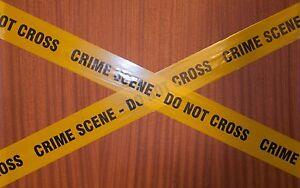 Prank barrier tape  x 10m - CRIME SCENE - DO NOT CROSS
