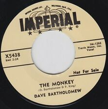 "DAVE BARTHOLOMEW The Monkey 7"" Re. New Orleans 1957 Infectious R&B killer HEAR"