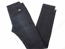 ELWOOD JEANS SIZE 10 NEARLY NEW TROUSER TOPS SKINNY LEG BUTTON DOWN POCKETS