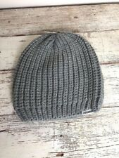 0acd0b2e1fb Converse Gray And Silver Knit Toboggan