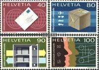 Schweiz UPU10-UPU13 (kompl.Ausgabe) gestempelt 1976 Sondermarken