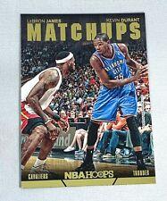 LeBron James/Kevin Durant 2014-15 Panini NBA Hoops Matchups #8