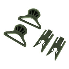 1Pair Tactical Swivel Clips for Fast Helmet Goggle Hunting Accessories Green