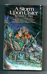 A Storm Upon Ulster  Son of the Sidhe 1981 Vintage Paperback