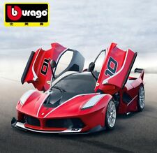 Bburago 1:18 Ferrari FXX K diecast metal model car new in box red