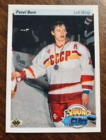 Pavel Bure Rookie Card RC Young Guns 1990/91 Upper Deck #526 Mint