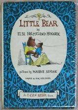 LITTLE BEAR ~ ELSE HOLMELUND MINARIK ~ PICTURES MAURICE SENDAK ~ VINTAGE 1957 HC