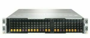 Supermicro SuperServer 2029BT-HNC0R 24-Bay 4-Node Servers X11DPT-B CTO NoCPU/RAM