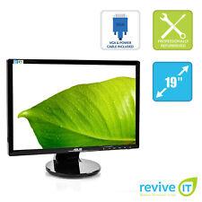 """ASUS VE198T 19"""" 1440x900 WXGA+ 16:10 LCD LED DVI VGA Monitor - Grade B"""