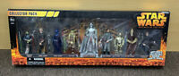 Star Wars Revenge of the Sith Collector Pack 9 figures Silver Darth Vader NIB