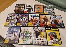 PC Spiele Sammlung mit allen DVDs, OHNE Spielecodes