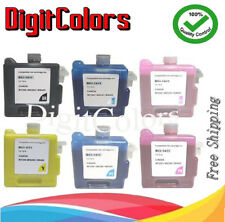 330ml replacement Compatible cartridge for Canon W7200 W8200 BCI-1411 A Set of 6