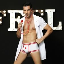 Sexy Men's Nurse Doctor Uniform Cosplay Outfit Underwear Role Play Costume Gift