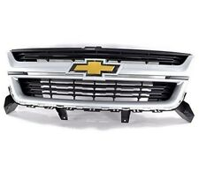 OEM Grille Package Quicksilver Metallic Fits 2015-2018 Chevy Colorado 23321738