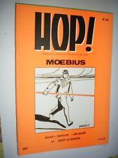 HOP n° 36  -MOEBIUS - RIGOT - PISTOLIN  - JIM BOUM - Jacky et Célestin -