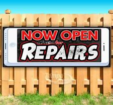 Now Open For Repairs Advertising Vinyl Banner Flag Sign Usa Many Sizes Available