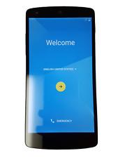 LG D820 Nexus 5 Black 16GB Unlocked Carrier Factory Reset Smartphone