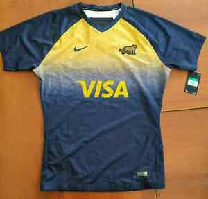 NIKE Argentina Rugby Men's Away Jersey, size XL