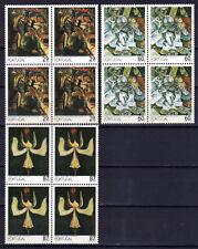 Portugal sc#1754-1756 (1989) 20th Century Art full set in block of 4 OG MNH**(T)