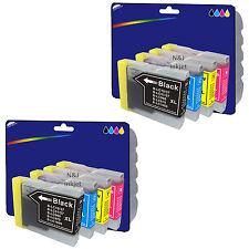 2 Set di Stampante Compatibili Cartucce Di Inchiostro Per Brother DCP-135C [ LC970 ]