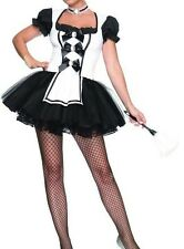 Ladies Sexy French Maid Women/ Ladies Fancy Dress Costume- size 8-10