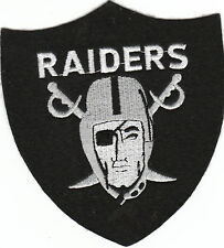 Vintage 1980s NFL Oakland Raiders 5 inch Crest Patch -(new old stock) LARGE