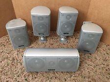 Infinity SAT 450 Center 450 Surround Sound Speakers 5