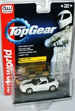 AutoWorld Top Gear - 2011 CHEVY CALLAWAY CORVETTE - white - 1:64 Display Case