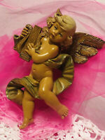 Vintage Simonetti Depose Cherub Angel Wall Hanging Made in Italy #366 1984'