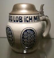 Bierkrug 0,5 Liter, Dümler & Breiden Modellnr. 1190, um 1920