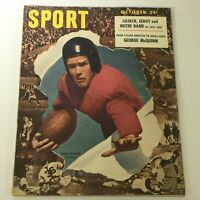 VTG Sport Magazine October 1947 Harry Gilmer Alabama, George McQuinn, Newsstand