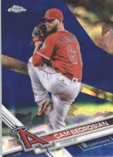CAM BEDROSIAN 2017 TOPPS CHROME SAPPHIRE EDITION #653 ONLY 250 MADE