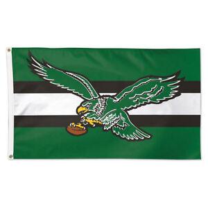 Philadelphia Eagles Vintage Retro Throwback Large Outdoor Flag