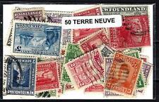 Terre Neuve - Newfoundland 50 timbres différents