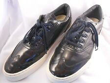 "Clae Men's Patent Leather Wingtip Shoes ""Whitman"" Size 10"