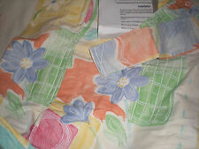 Rare Di Lewis Pair 2 Panels ea 84w x 84L Pastel floral Rod pocket NEW