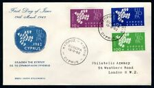 Cyprus - 1962 Europa First Day Cover