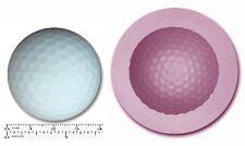Balle de golf Craft Sugarcraft Sculpey caoutchouc de silicone moule