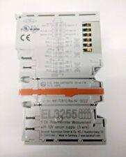 EL3255 HD EtherCAT Terminal 5-ch input potentiometer measurement & sensor supply